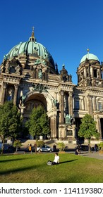 BERLIN, GERMANY - JUNE 30, 2018: The Berlin Dome Cathedral in Berlin, Germany.