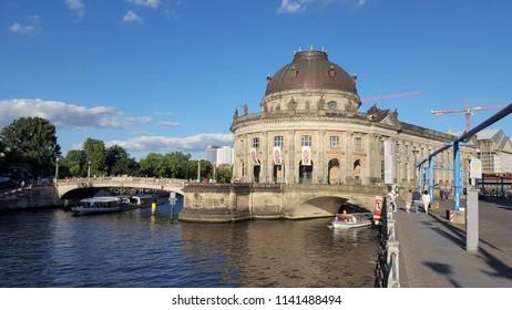 BERLIN, GERMANY - JUNE 30, 2018: The Bode Museum in Berlin, Germany.