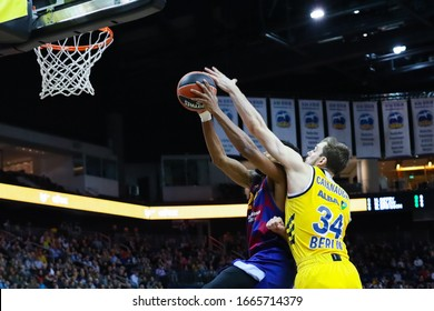 Berlin, Germany, March 04, 2020: Cory Higgins of FC Barcelona Basketball in action during the EuroLeague match between Alba Berlin and FC Barcelona at Mercedes Benz Arena in Berlin