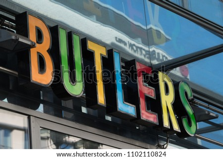 Berlin Germany March 19 2018 Butlers Stock Photo Edit Now