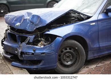 Germany Car Crash Images, Stock Photos & Vectors   Shutterstock