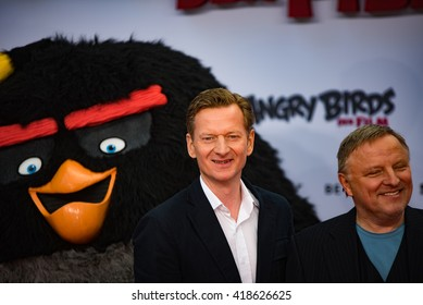 BERLIN - GERMANY - May 1: Michael Kessler at the German premiere from Angry Birds at CineStar,Sony Center on May 1, 2015 in Berlin, Germany.