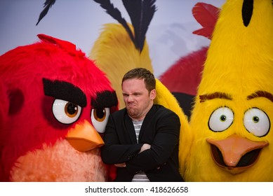 BERLIN - GERMANY - May 1: Ralf Schmitz at the German premiere from Angry Birds at CineStar,Sony Center on May 1, 2015 in Berlin, Germany.