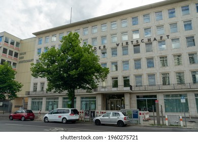BERLIN, GERMANY - May 14, 2020: BERLIN, GERMANY May 14  The building of the Haus Der Wirtschaft in Charlottenburg