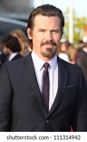 BERLIN, GERMANY - MAY 14: Josh Brolin attends the Men In Black 3 Premiere at the O2 World on May 14, 2012 in Berlin, Germany.