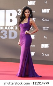 BERLIN, GERMANY - MAY 14: Nicole Scherzinger attends the Men In Black 3 Premiere at the O2 World on May 14, 2012 in Berlin, Germany.