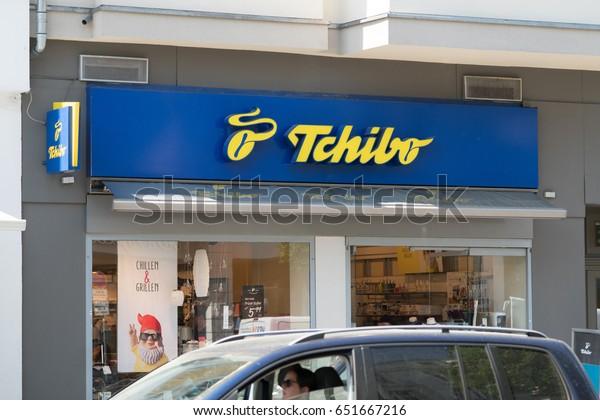 kauf verkauf vollständig in den Spezifikationen klassische Stile Berlin Germany May 19 2017 Tchibo Stock Photo (Edit Now ...