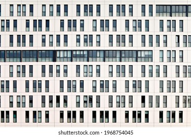 Berlin, Germany – May 2 2019: European modern residential architecture. Exterior of modern apartment building