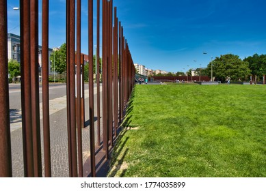 Berlin / Germany - May 31, 2020: Gedenkstätte Berliner Mauer, Berlin Wall Memorial
