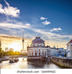Berlin, Germany in the morning.
