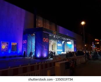Berlin, Berlin / Germany - November 08, 2018: Komische Oper GQ Man of the Year Event 2018