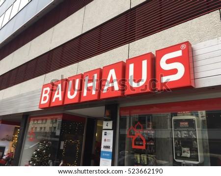 Berlin Germany Novembre 25 2016 Bauhaus Stock Photo Edit Now