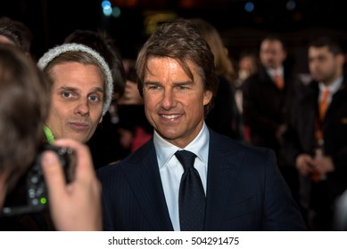 BERLIN - GERMANY - October 21: Tom Cruise at the German premiere from Jack Reacher - Kein Weg Zurück at CineStar,Sony Center on October 21, 2016 in Berlin, Germany..