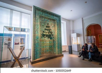 Berlin, Germany: October 9, 2017: Pergamonmuseum (The Pergamon Museum), situated in the Museum Island.