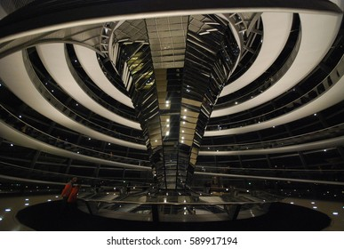 Berlin, Germany - Reichstag - November 2015