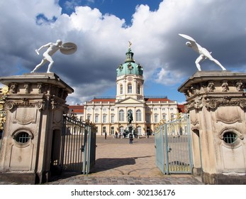 BERLIN, GERMANY - SEP 17: Charlottenburg Palace in Berlin, Germany on September 17, 2013. Berlin is the capital and largest city in Germany.