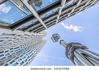 BERLIN, GERMANY - SEPTEMBER 14 2019: Upper West tower by archite