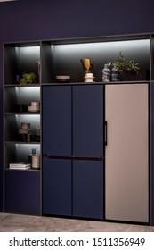 Berlin, Germany – September 5th, 2019: Samsung Bespoke customizable refrigerators at IFA 2019