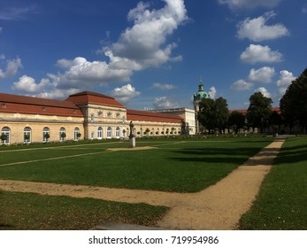 Berlin, Germany-9/20/2017 Castle Charlottenburg