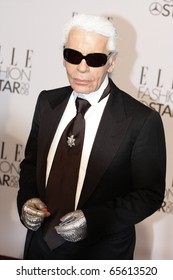 BERLIN - JULY 19: Karl Lagerfeld attends the Elle Fashion Star 2008 at the Tempodrom. July 19, 2008 in Berlin.