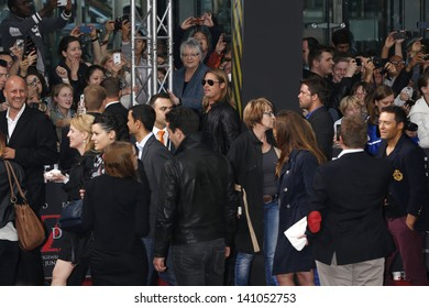 BERLIN - JUN 4: Brad Pitt at the 'WORLD WAR Z' Premiere at Sony Center on June 4, 2013 in Berlin, Germany