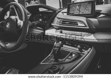 Berlin June 09 2018 Showroom Interior Stock Photo Edit Now