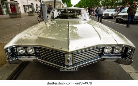 BERLIN - JUNE 17, 2017: Full-size luxury car Buick Electra 225 Limited, 1967. Classic Days Berlin 2017.