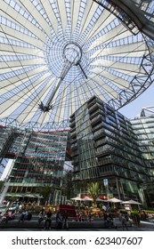 BERLIN - JUNE 18: Sony Center from within on June 18, 2012 in Berlin, Germany.