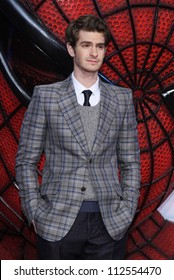 'BERLIN - JUNE 20: Andrew Garfield attends the Germany premiere of ''The Amazing Spider-Man'' at Sony Center on June 20, 2012 in Berlin, Germany.