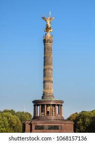 Berlin landmark - Victory Column, Germany