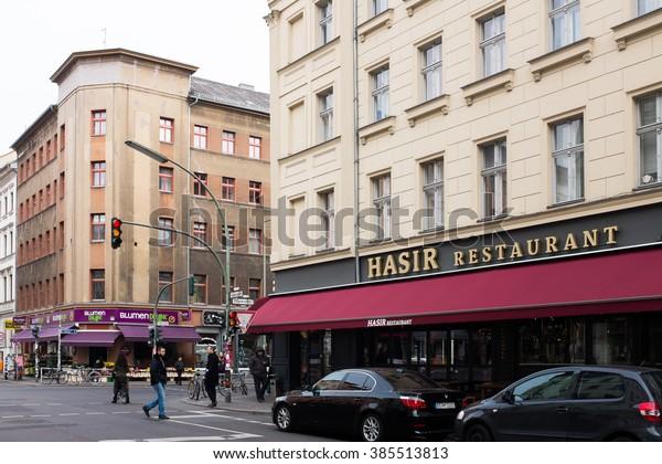 Berlin March 03 Adalbertstrasse Oranienstrasse Restaurant