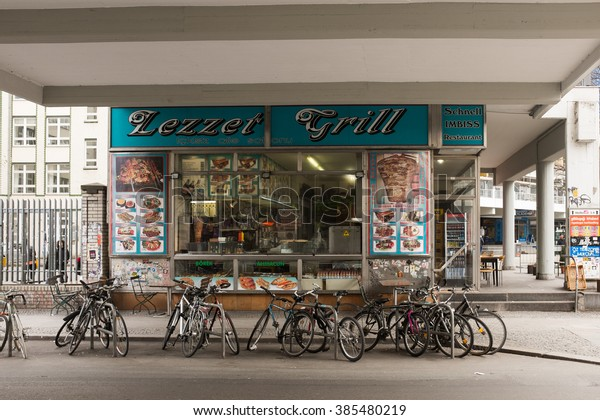 Berlin March 03 Fast Food Restaurant Stock Image Download Now