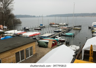 BERLIN, MARCH 10: The lake Wannsee in Berlin on March 10, 2016.