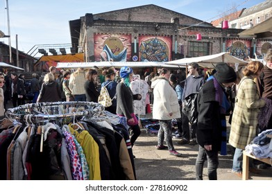 BERLIN â?? March 1st: Flowmarkt  (flea market). Taking place from April till October on every first and third Sunday on March 1 2015 in Berlin, Germany.