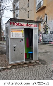 BERLIN MARCH 5: Photoautomat on March 5, 2015.