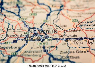 Berlin Pin On Map Images, Stock Photos & Vectors | Shutterstock