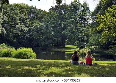 Berlin park Tiergarten