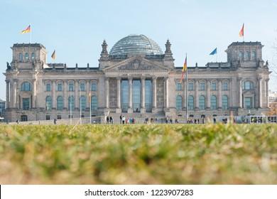 Berlin Reichstag , german government building in Berlin