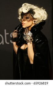 BERLIN - SEPTEMBER 07: Lady Gaga attends the Monster Cable Party at the Tube Club. September 7, 2009 in Berlin, Germany