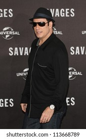 BERLIN - SEPTEMBER 17: John Travolta attends the 'Savages' photocall at Hotel Adlon on September 17, 2012 in Berlin, Germany.