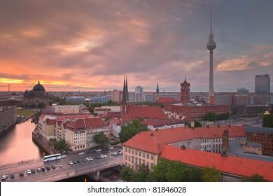 Berlin Skyline Dynamic City