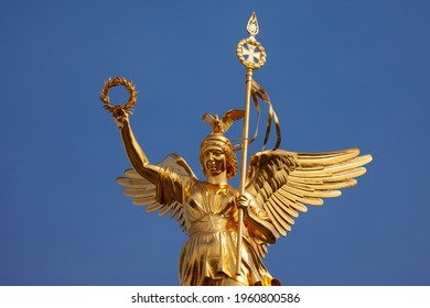 Berlin victory coloumn - siegessaeule - Germany