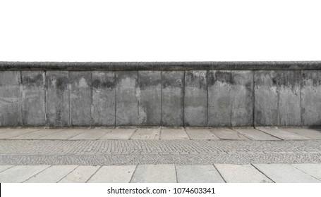 Berlin wall abstract