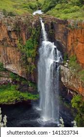 Berlin waterfall. Blyde river, Mpumalanga, Drakensberg, South Africa
