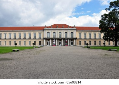 BERLIN-AUGUST 9: Charlottenburg palace in Berlin, Germany, pictured on  August 9, 2011, is the largest palace in Berlin and was the summer residence for Sophie Charlotte, wife of the Elector of Brandenburg, Frederick III.
