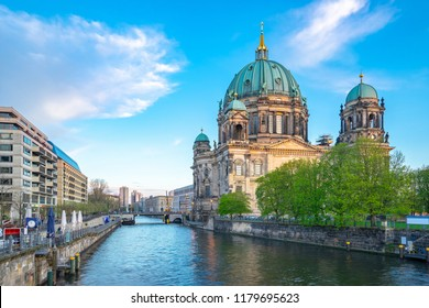 Berliner Dom in Berlin city, Germany on Museum Island in the Mitte borough.