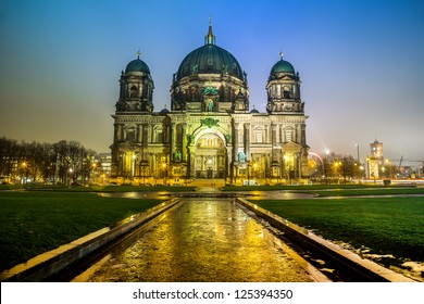 Berliner Dom, is the colloquial name for the Supreme Parish and Cathedral Church in Berlin. Is parish church of Evangelical Church of Berlin Brandenburg Silesian Upper Lusatia.