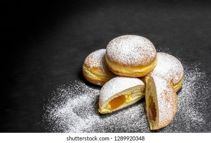 Berliner Doughnuts European donuts tradicional bakery for fasching carneval time