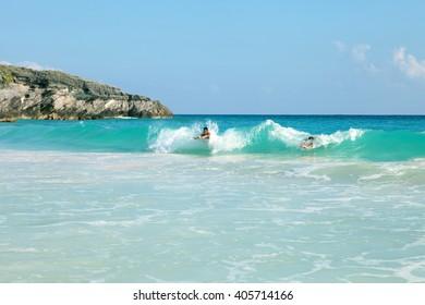 Bermuda Beach Swimmers