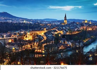 Bern. Image of Bern, capital city of Switzerland